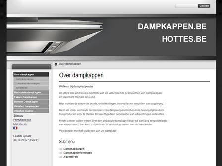 dampkappen website
