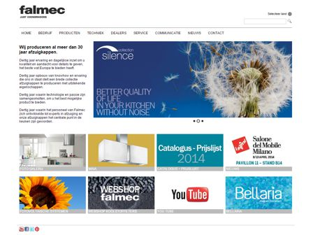 falmec website