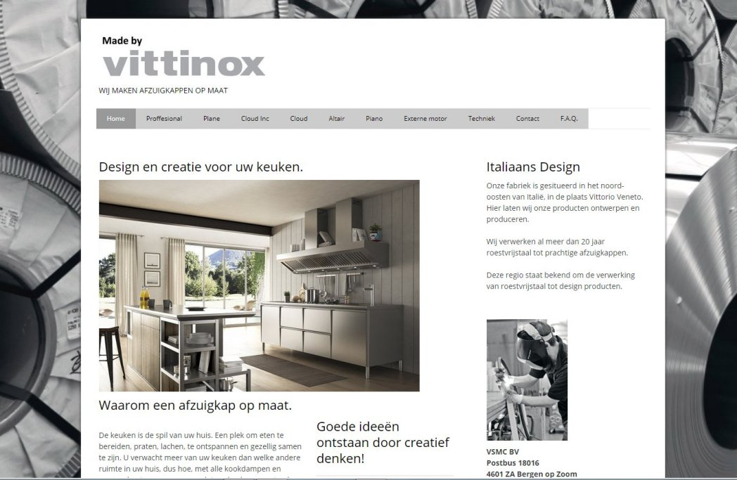 Website Vittinox
